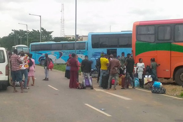 Passengers Arrested