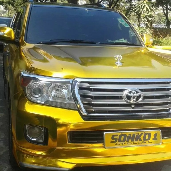 Mike Sonko gold-plated cars autojsoh