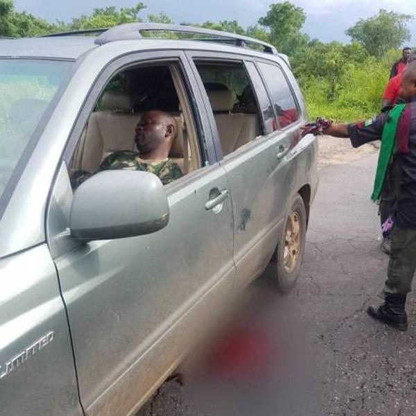Naval Officer shot autojosh