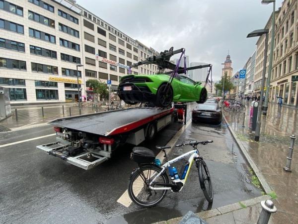 police-bicycle-seizes-lamborghini-electric-car