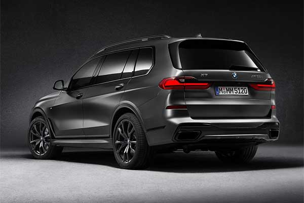BMW Launches X7 Dark Shadow Edition Which Will Be Limited