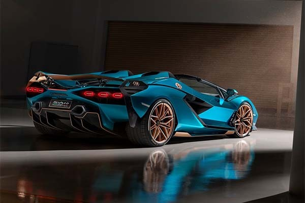 Lamborghini Sian Roadster Launched And All Has Been Sold