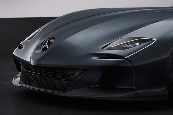 Check Out This Beautiful Rendering Of The Mercedes-Benz SLR