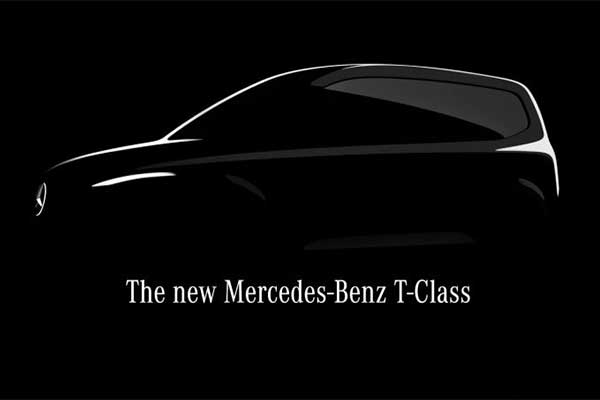 Mercedes-Benz Teases T-Class Compact Van To Sit Below The V-Class