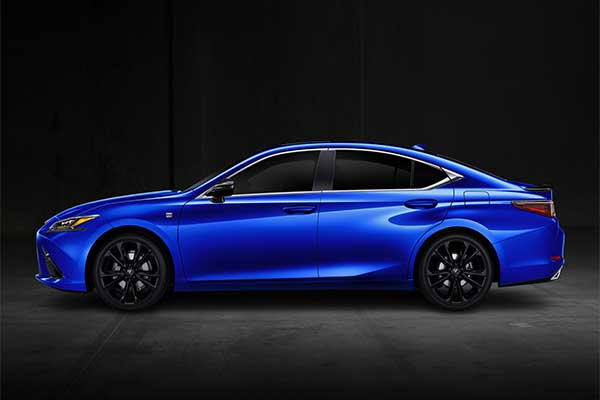 2021 Lexus ES Gets AWD And A New Black Line Special Edition