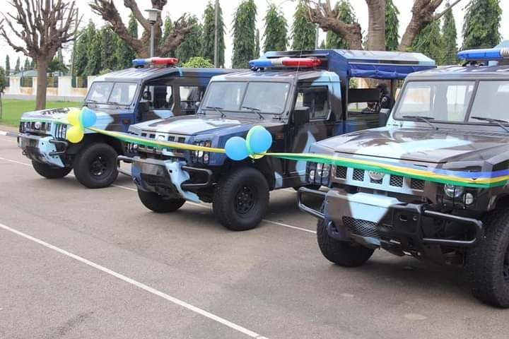 Innoson Donates Operational Vehicles To Nigeria Police Force For Community Policing
