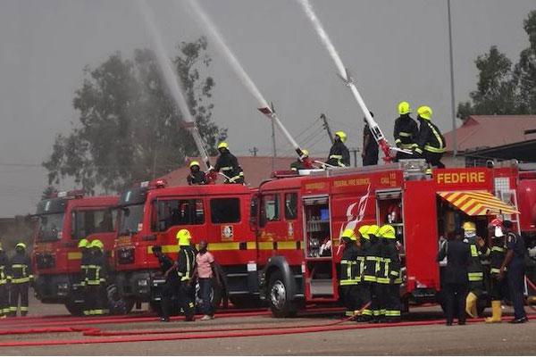 Fire LASTMA Yard autojosh