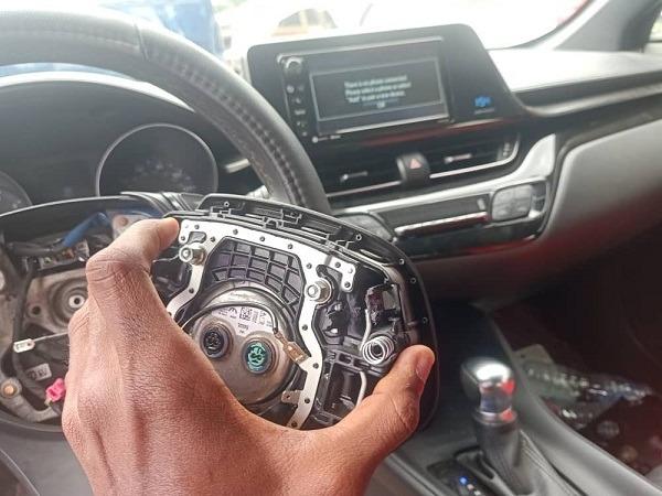 srs airbag steering