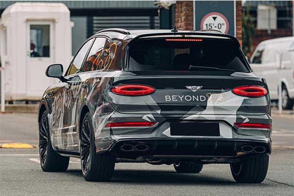 2021 Bentley Bentayga Speed Teased Ahead Of Launch