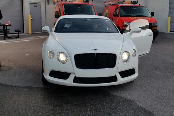 Man Drives To Work In $80,000 Bentley Continental GT To Quit His Job