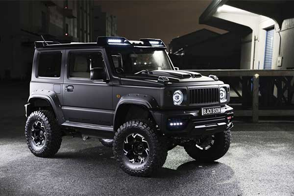 Check Out This Pimped Suzuki Jimny Black Bison Edition