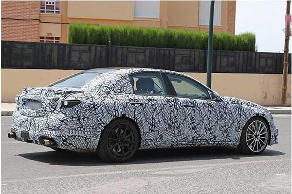 New 2022 Mercedes-Benz C53 AMG Spy Photos Seen In Europe