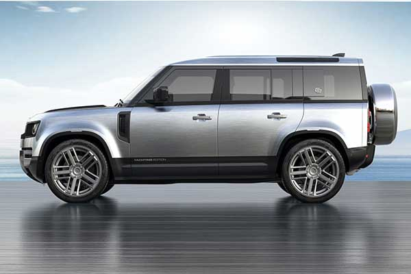 Land Rover Defender Gets The Carlex Treatment With Yachting Edition