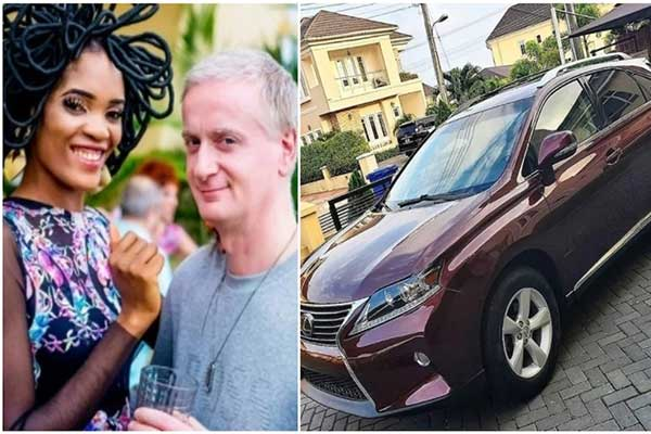 Nollywood Actress Chika Lann Buys Lexus RX For Her Husband
