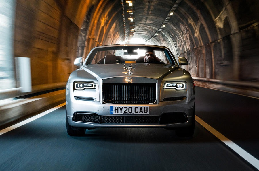 Rolls-Royce reveals new Dawn Silver Bullet special edition