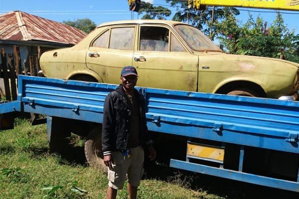 Kenyan Transforms Abandoned Ford Escort MK1 To A Cute Offroader