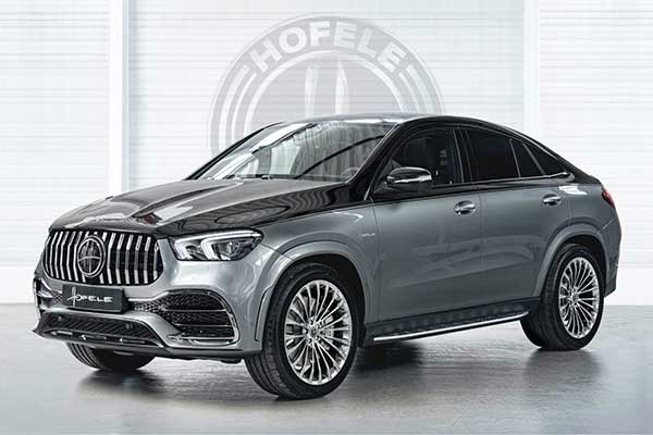 Hofele Transforms Mercedes GLE Coupe Into A Maybach /AMG Combo