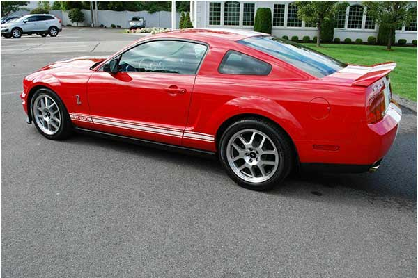 Will Smith's Ford Mustang GT500 From 'I Am Legend' Film Is For Sale