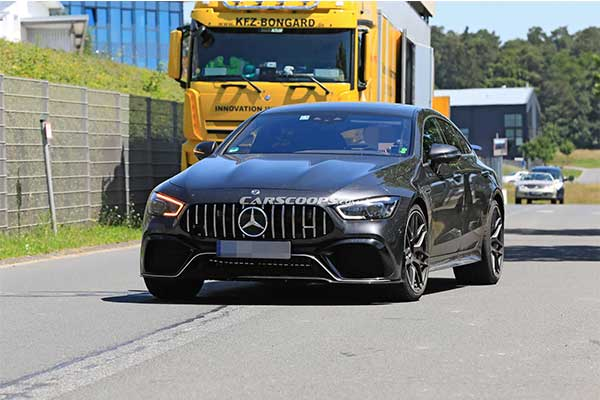 Mercedes-AMG Teases Most Powerful GT73 Sedan With 800Hp