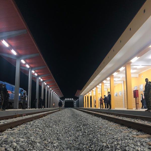 Beautiful Photos Of A Train Station On Itakpe-Warri Rail Line Corridor