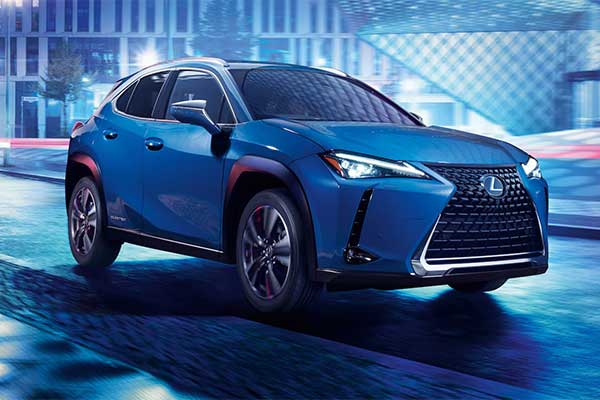 RZ 450e Nameplate Trademarked By Lexus Indicating A New Electric SUV
