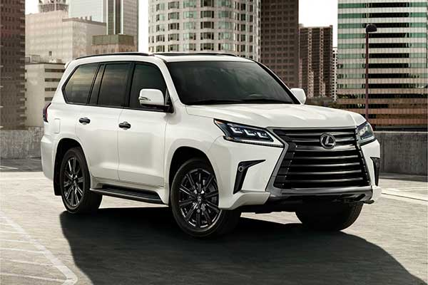2021 Lexus LX 570 Gets Upgraded Sport And Inspiration package