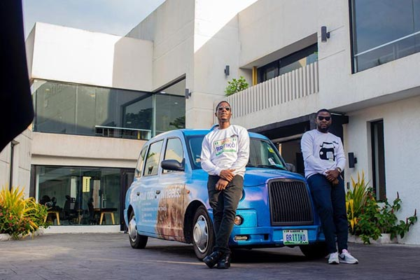 Checkout The London Taxi That Was Spotted In Lagos
