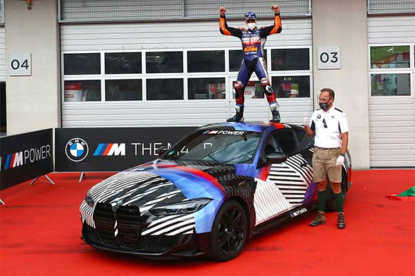 Latest BMW M4 Given To MotoGP Winner Ahead Of Official Release