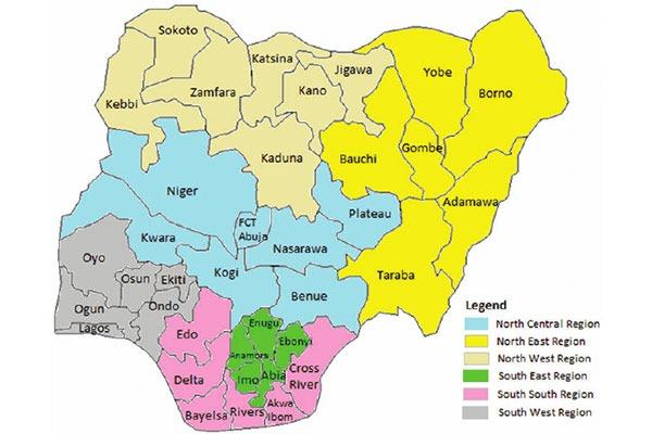 36 States In Nigeria