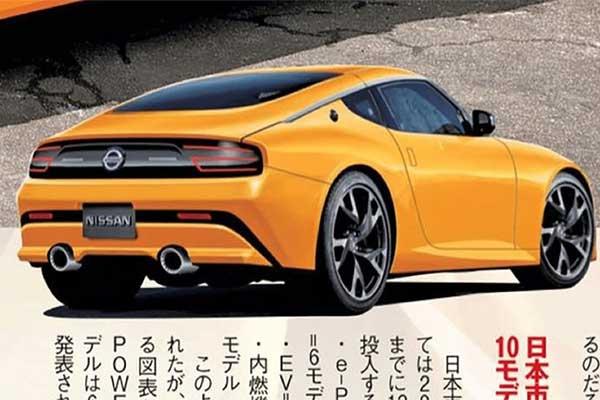Next Generation Nissan 400Z Delayed Again As Photos leak