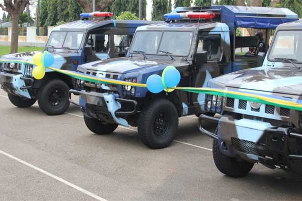 Innoson Motors Donates Trucks To The Nigeria Police Force