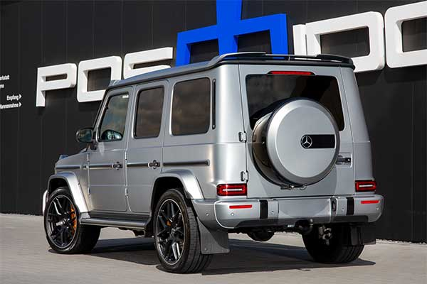 Check Out This 927HP Mercedes-Benz G63 AMG By Posaidon