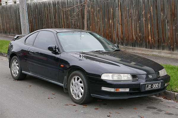 The Honda Prelude, A Now Forgotten Favorite Coupe