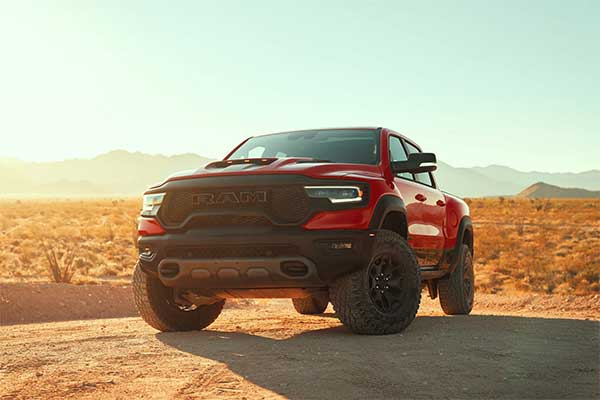 2021 RAM 1500 TRX Is The World's Most Powerful Pickup Truck