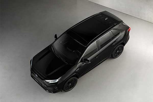 Toyota RAV4 Hybrid Black Edition Joins The Rest Of The Gang