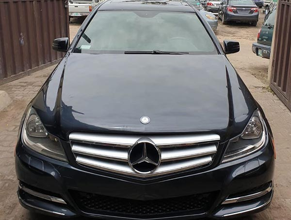 Nigerian Car Tuner, Khaz Customs Brings Dead Mercedes C-Class Back To Life