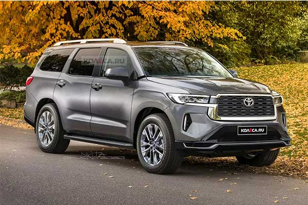 Check Out This Amazing Toyota Sequoia Rendering