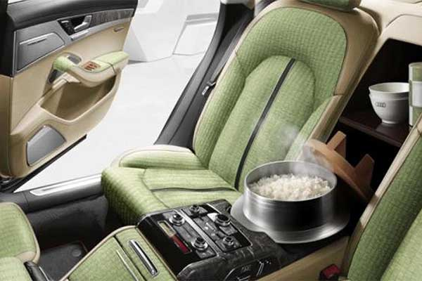 Check Out This Rice Cooker Installed In An Audi A8