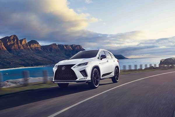 Lexus Launches Black Line Special Edition RX Limited To 1000 Units