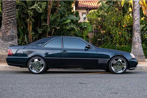 Basketball Legend Michael Jordan's 90s Benz S600 Coupe Is For Sale