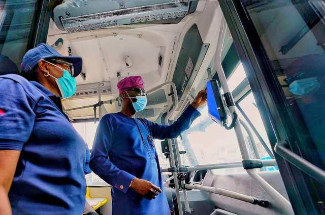 Oshodi-Abule Egba BRT Babajide Sanwoolu e-ticketing