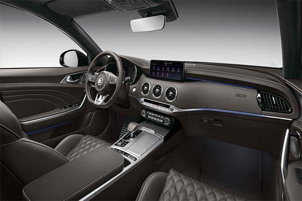 Kia Refreshes The Stinger Sports Sedan For 2021