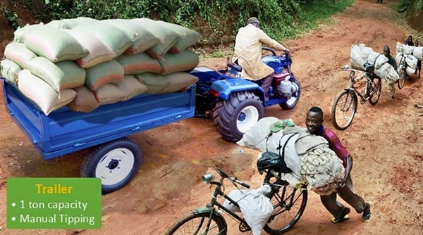 Meet The Tryctor: A Motorbike-Turned-Tractor Targeting Farmers In Nigeria