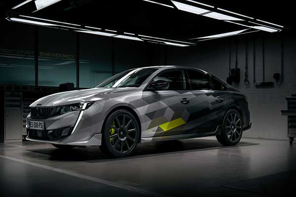 Peugeot Introduces A 355hp 508 PSE, The Most Powerful In The Range