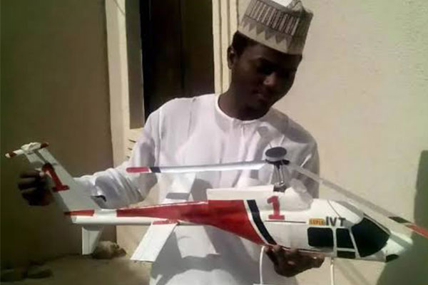 Aero Talent Discovered In Kaduna, Builds Jet, Helicopter, Ship, Receives Accolades(PHOTOS