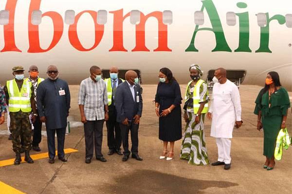 Ibom Air Ibiam Airport.