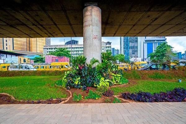 LASPARK Transforms Outer Marina Stretch Of Lagos Island, Sanwo-Olu Praises Them