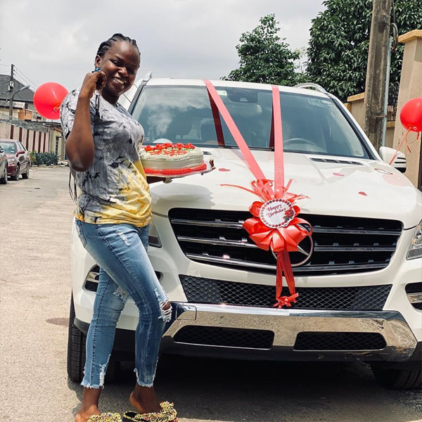 Comedian and skit maker, Ayodele Aguda aka MC Shem gifts wife a Mercedes-Benz ML350 autojosh vb