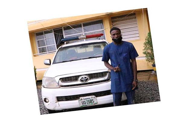 Police Arrest 25 Year Old For Stealing FRSC Vehicle