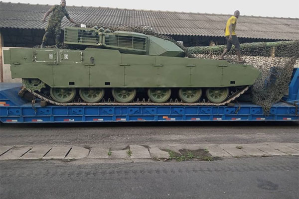Nigerian Military Procures VT-4 Main Battle Tanks And SH-5 Self-Propelled Howitzers